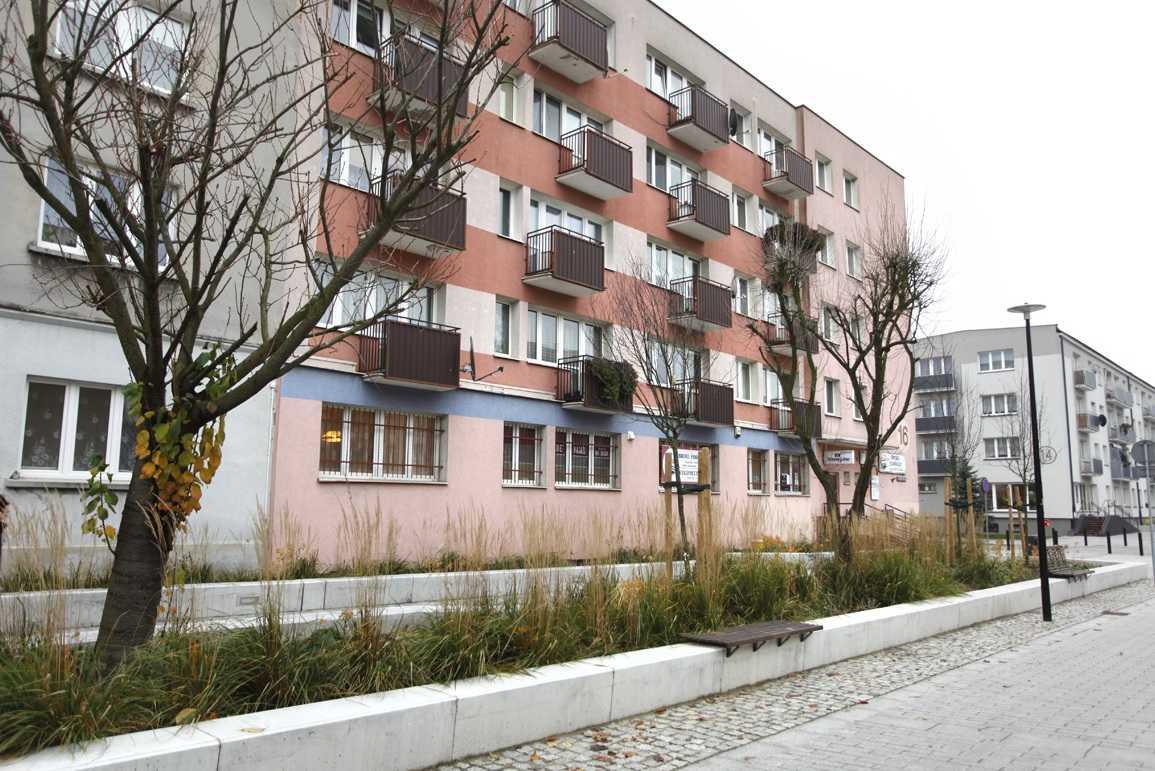 Wejście do gabinetu masażu w Starogardzie Gdańskim